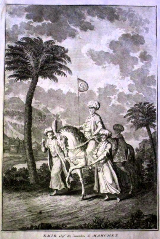 Un émir des musulmans vu par Picart