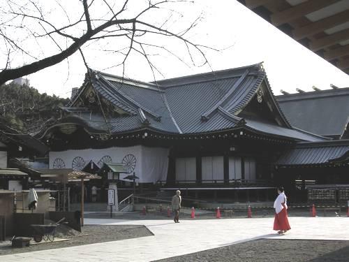 A Tokyo, le temple de Yasukuni
