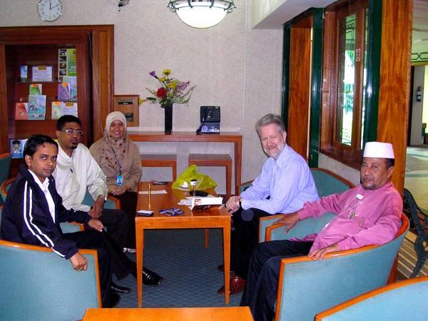 Durant ma discussion avec un groupe de responsables de Darul Arqam.