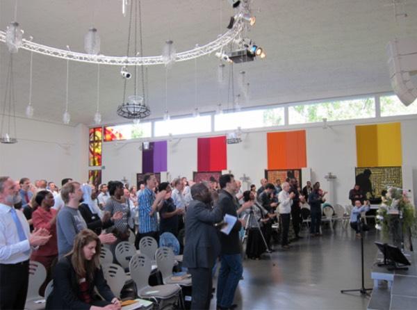 Rassemblement évangélique, Bienne, 2014.